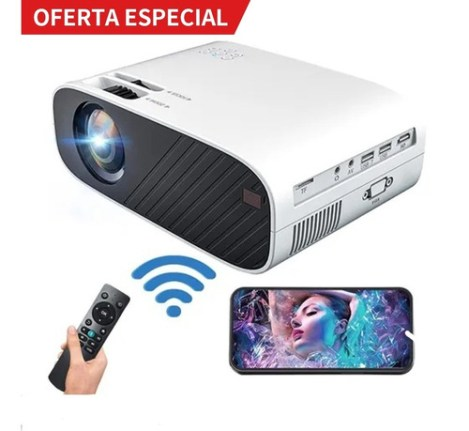 Proyector Portátil Wifi Hd 1080p 3500 Lumenes