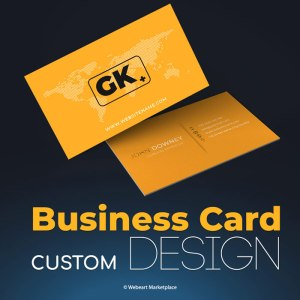 Business Card Custom Design