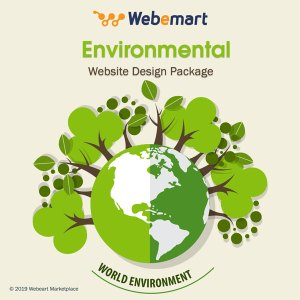 Environmental Website Design Package Webemart Marketplace