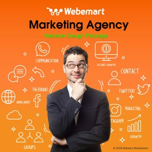 Marketing Agency Website Design Package Webemart Marketplace
