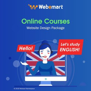 Online Courses Website Design Package Webemart