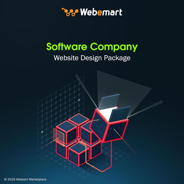 Software Company Website Design Package Webemart Marketplace