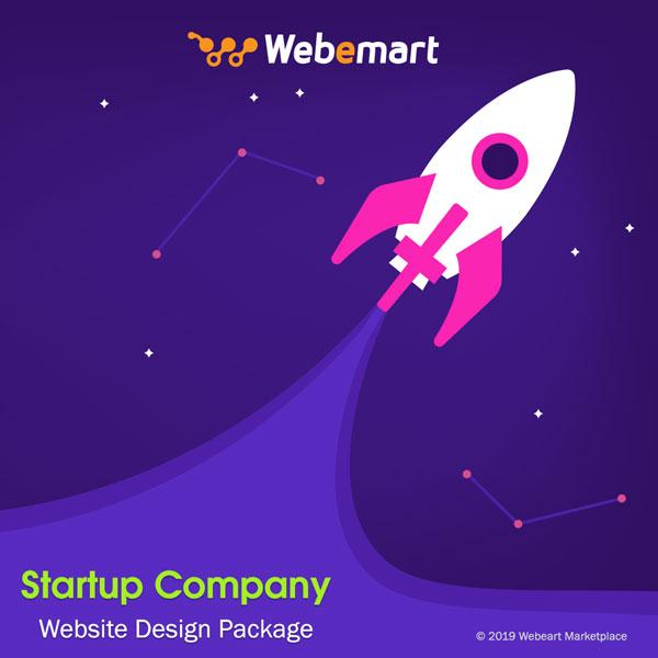 Startup Website Design Package Webemart Marketplace