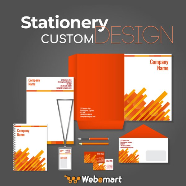 Stationery Custom Design