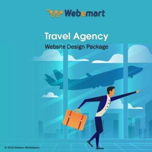Travel Agency Website Design Package Webemart Marketplace