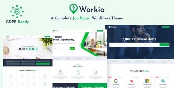 Workio – Job Board WordPress Theme