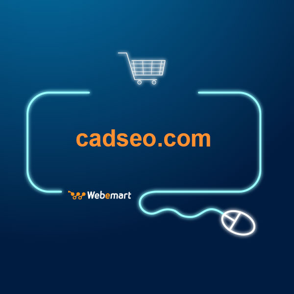 CAD SEO Website for Sale
