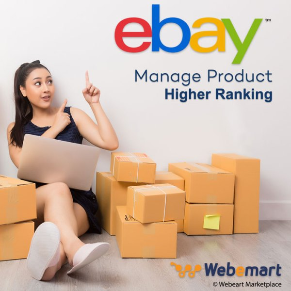 eBay Manage Product & Higher Ranking on Search