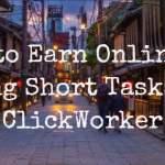 Earn online by doing short tasks on ClickWorker