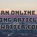 Earn online by writing articles on iWriter