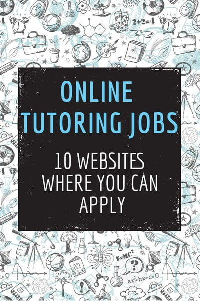 Online Tutoring Jobs