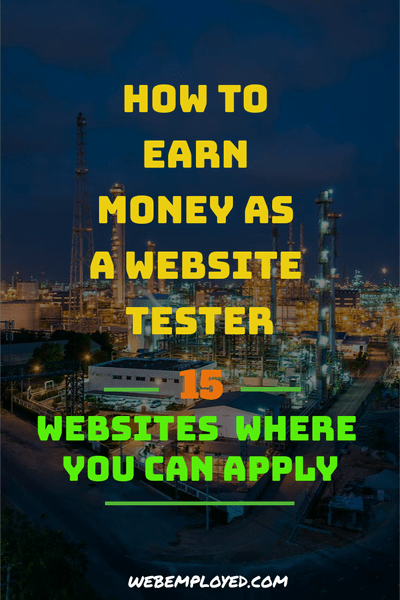 How to become a Website Tester: 15 Websites that Pay