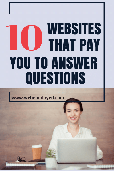 Earn money by answering questions