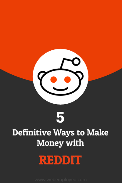 Make money with Reddit