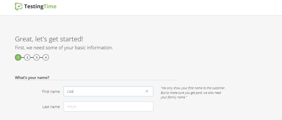 testingtime profile