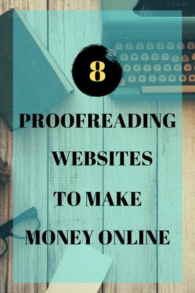 Make money proofreading