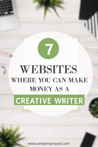 make money as creative writer
