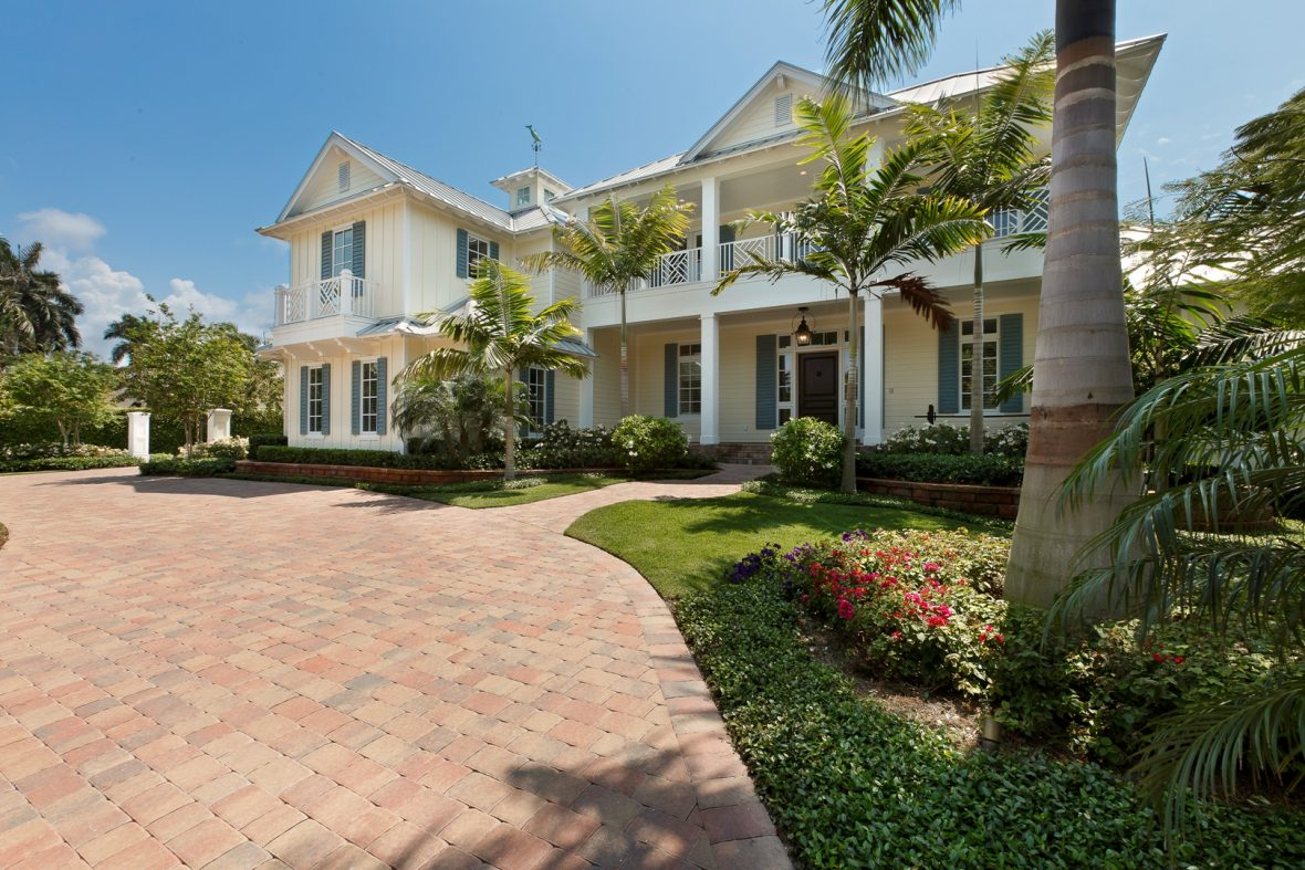 West Indies Style Home Weber Design Group Inc Naples