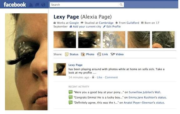 Facebook(フェイスブック)のプロフィールページをお洒落にカスタマイズ