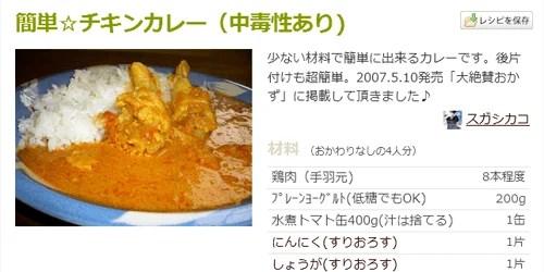 簡単☆チキンカレー(中毒性あり)