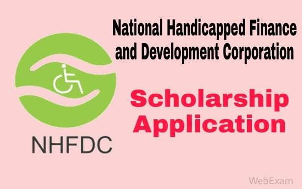 NHFDC Scholarship Information