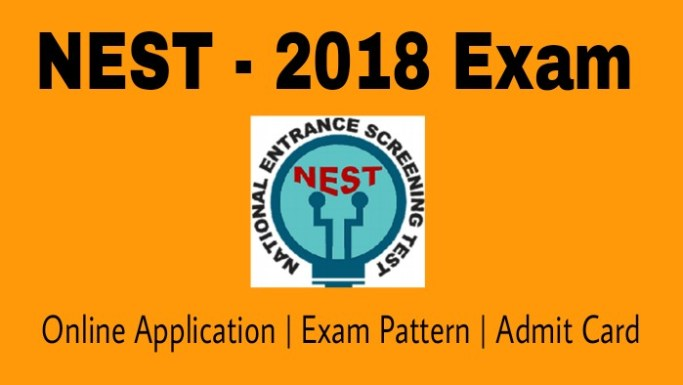 NISER NEST 2018 Exam