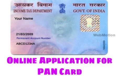 pan card online apply