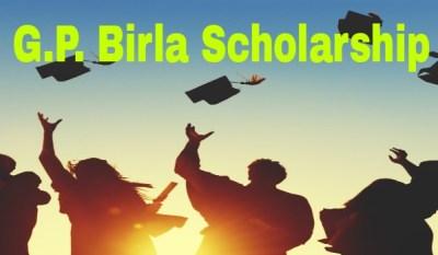 GP Birla Scholarship