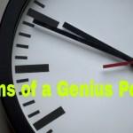 Signs Habits of Genius People