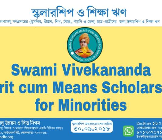 Merit cum Means Scholarship for Minorities