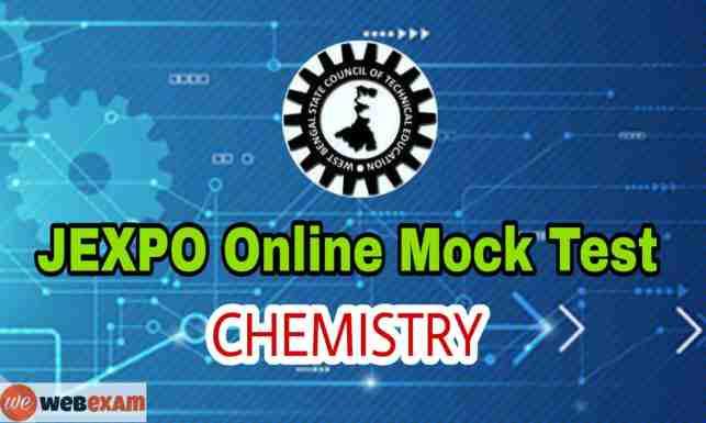 JEXPO Chemistry Online Mock Test