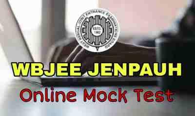 WBJEE JENPAUH Online Mock Test