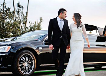 Stylish wedding arrangements