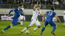 greece vs finland-uefa euro 2016 qualifiers-image