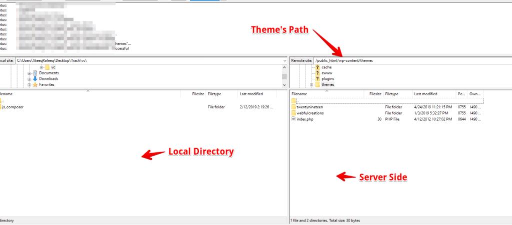 Update Wordpress Theme Manually Via Ftp Or Cpanel