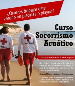Curso de Socorrista por Cruz Roja Española