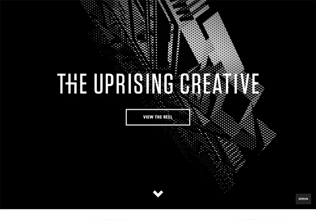 Portfolio website: The Uprising Creative