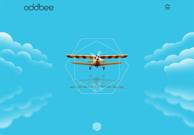 Portfolio website: Oddbee