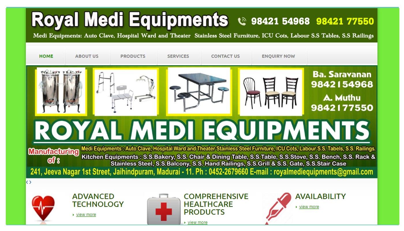 Royal Medi Equipment
