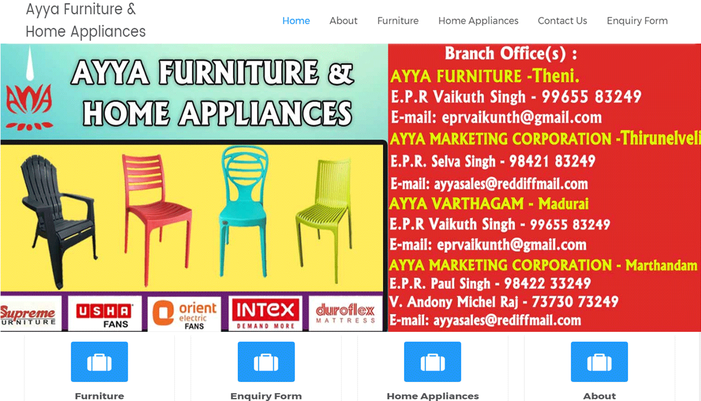 Supreme Chairs Dealers in Madurai