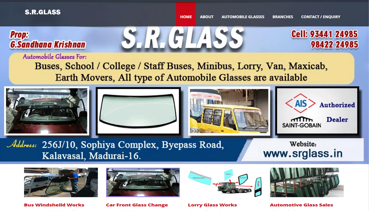 SR GLASS