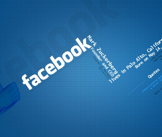 Facebook Wallpaper 2012