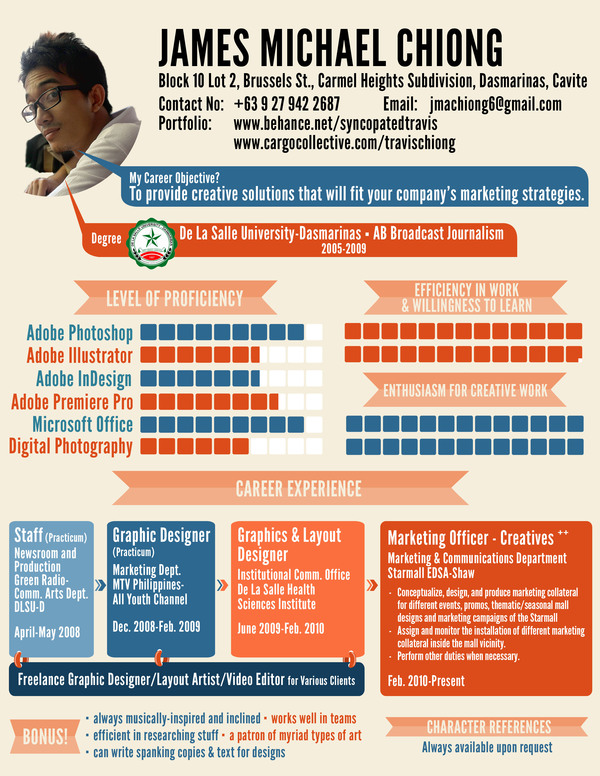 resume designs best creative resume design infographics webgranth