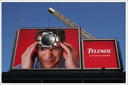 headache billboard