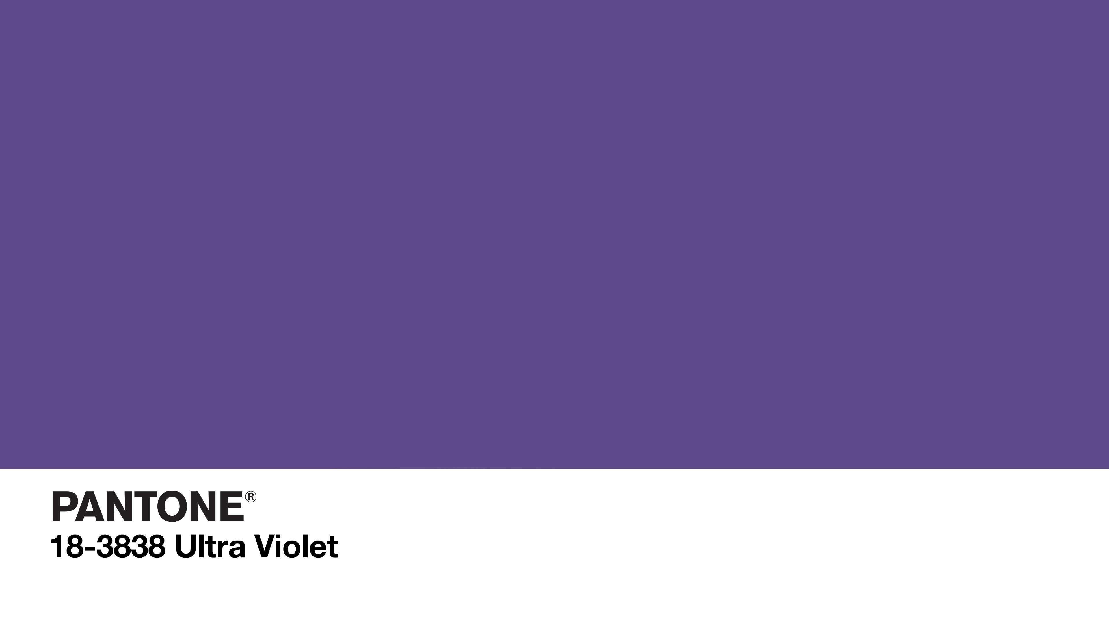 Ultra Violet Pantone 18-3838: il colore del 2018