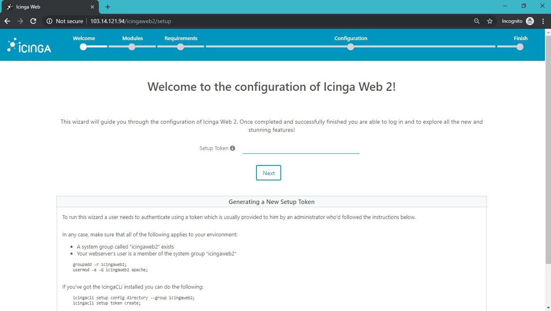 Installing Icinga web 2 on CentOS7 / RHEL 7 - Web Hosting