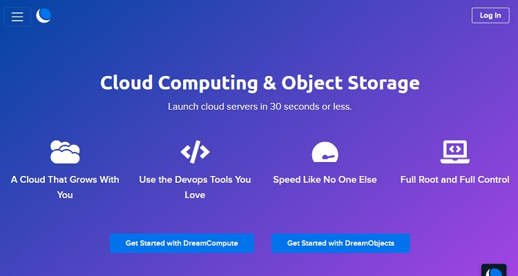 Dreamhost cloud has a very strong value proposition