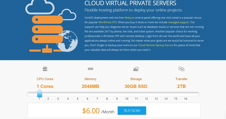Interserver VPS is an alternative to Cloudways