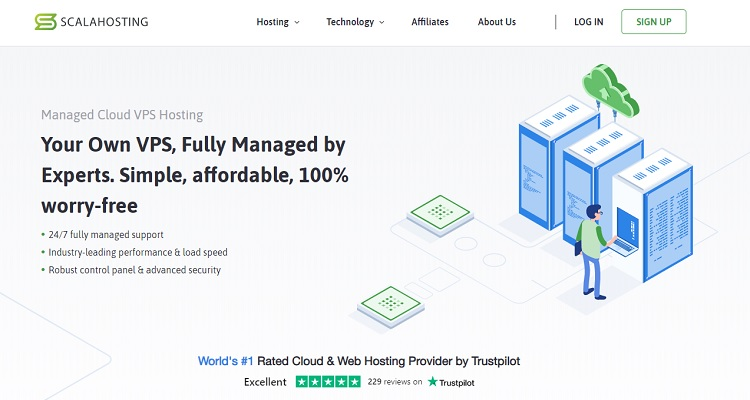 ScalaHosting Managed Cloud VPS