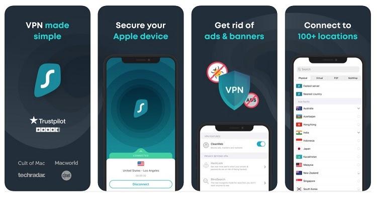 setting up VPN on iOS